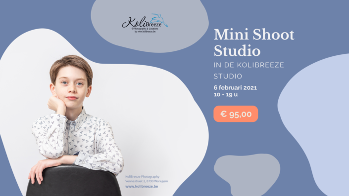 MiniShoot Studio: Communie, Lentefeest, Vormsel
