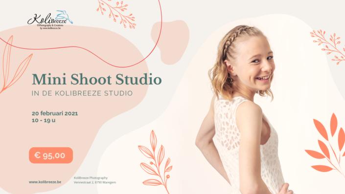 Boek nu jouw mini Communie-shoot in de studio