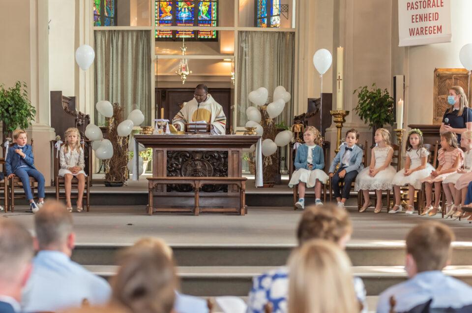Eerste Communie Sint-Petrus Waregem