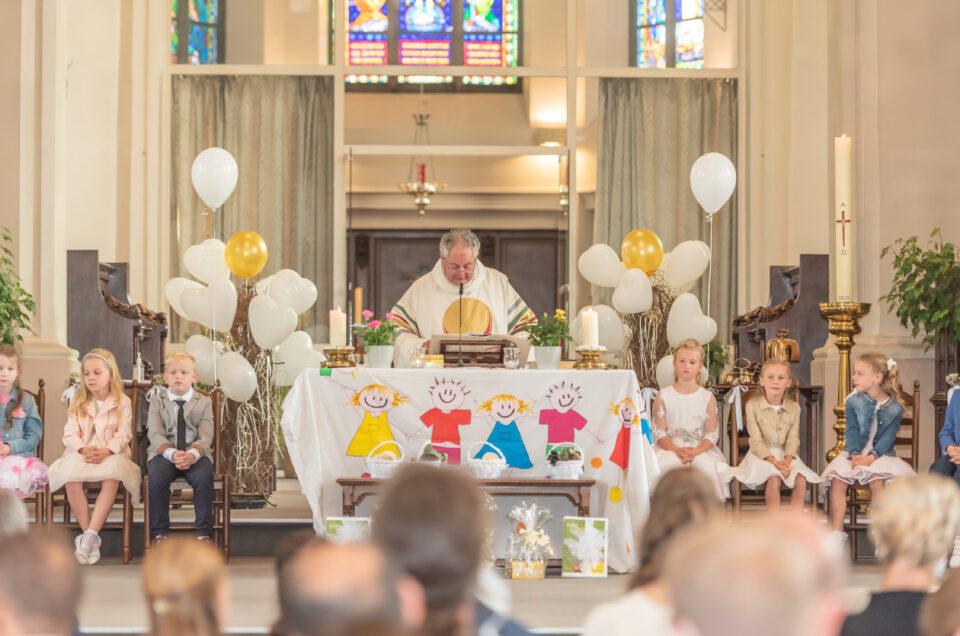 Eerste Communie Vrije Basisschool Keukeldam 2021.